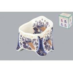 фото Подставка сервировочная для чайных пакетиков Elan Gallery «Павлин синий»