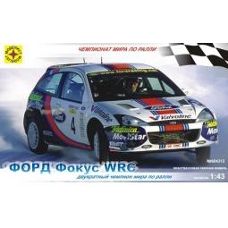 Купить Сборная модель автомобиля 1:43 Моделист «Форд Фокус» WRC