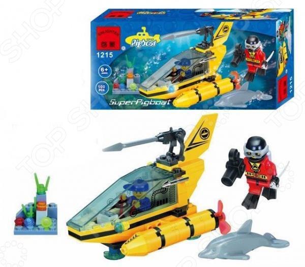 Конструктор игровой Brick SuperPigboat
