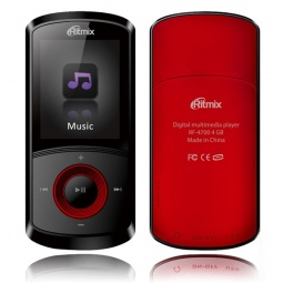 фото MP3-плеер Ritmix RF-4700. Цвет: красный. Встроенная память: 4 Гб