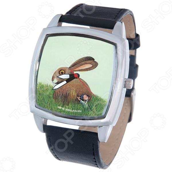 Часы наручные Mitya Veselkov «Сон о большом кролике» CH