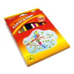 фото Набор карандашей цветных Гамма «Мультики»: 18 цветов