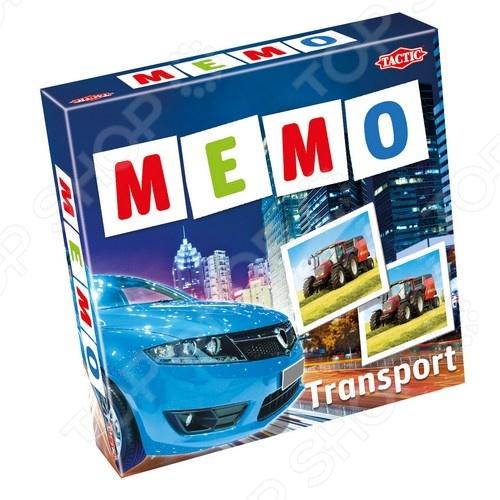 Игра развивающая Tactic 41442 «Мемо. Транспорт 2» настольная игра tactic мемо дикие животные 2 41441
