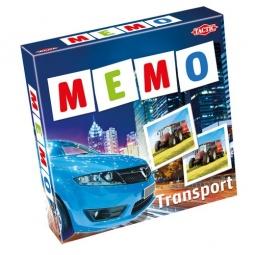фото Игра развивающая Tactic 41442 «Мемо. Транспорт 2»