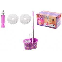 Купить Набор для уборки: швабра, ведро и насадки Violet 09000/89 «Фиолетовый мак»