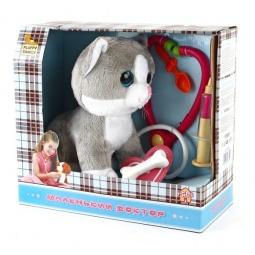 фото Игрушка интерактивная мягкая Fluffy Family «Маленький доктор. Кот»
