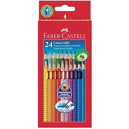 Купить Набор карандашей цветных Faber-Castell Grip 2001 112424