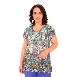 Блуза Pretty Woman «Руфина». Цвет: зеленый