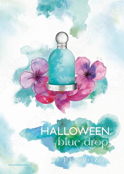 Туалетная вода для женщин Halloween Blue Drop сергей аксу запах женщины