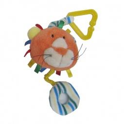 Купить Игрушка-погремушка мягкая Coool Toys «Львенок»