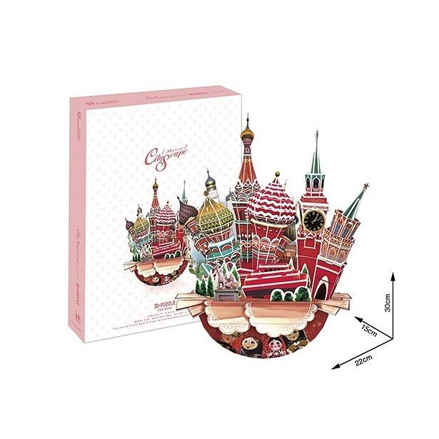 фото Пазл 3D CubicFun «Москва»