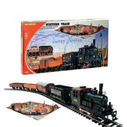 фото Набор железной дороги игрушечный Mehano Western Train с ландшафтом