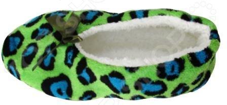 Тапочки домашние Burlesco H133. Цвет: зеленый домашние тапочки burlesco домашние тапочки