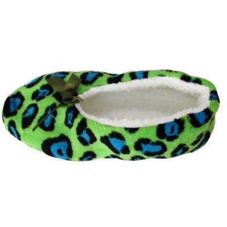 Купить Тапочки домашние Burlesco H133. Цвет: зеленый