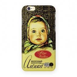 фото Чехол для iPhone 6 Mitya Veselkov «Шоколадка Аленка»