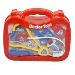 фото Игровой набор для ребенка Shantou Gepai «Набор доктора в чемоданчике». Цвет: синий, желтый