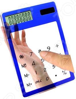 Калькулятор сенсорный прозрачный 31 ВЕК E4118B