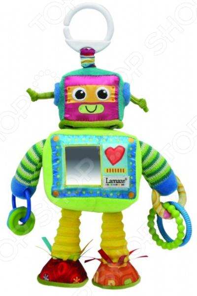 """Погремушка-шуршалка """"Робот Расти"""" Lamaze Погремушка-шуршалка Lamaze Tomy «Робот Расти»"""