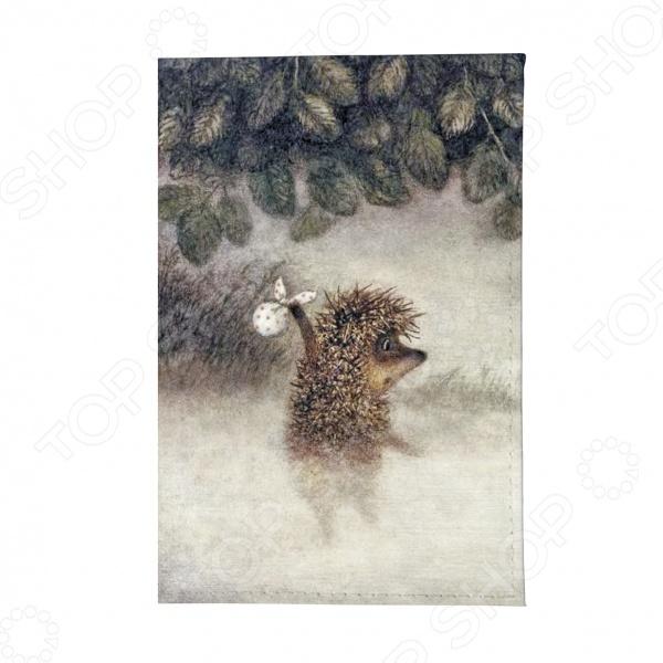 Обложка для паспорта Mitya Veselkov «Ежик в тумане» цена