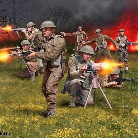 Купить Миниатюры Revell «Фигуры. 2-я британская пехота»