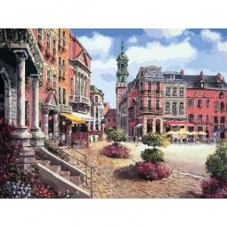 фото Набор для раскрашивания по номерам Белоснежка «Шарлеруа. Бельгия»