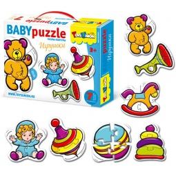 Купить Пазл контурный Toys Union «Игрушки»