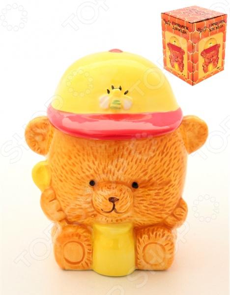 фото Горшочек для меда Elan Gallery «Медвежонок», Банки для мёда. Розетки