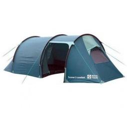 фото Палатка NOVA TOUR «Тоннель 3 комфорт». Цвет: голубой, синий