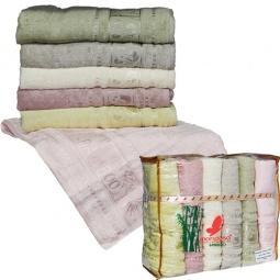 фото Комплект из 6-ти махровых полотенец Mariposa Panda Mix. Размер полотенца: 70х140 см