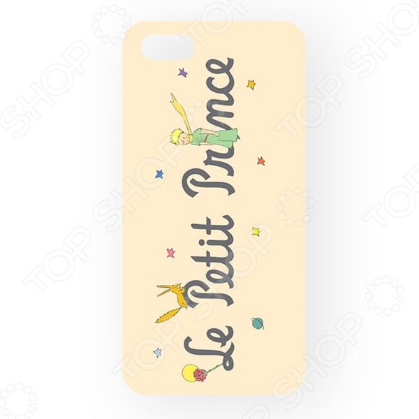 Чехол для iPhone 5 Mitya Veselkov Le Petit PrinceЗащитные чехлы для iPhone<br>Чехол для iPhone 5 Mitya Veselkov Le Petit Prince аксессуар, предназначенный для защиты вашего смартфона от легких механических повреждений: сколов, царапин, незначительных ударов. Чехол разработан специально для iPhone 5. Легко крепится к гаджету и надежно защищает его.  Аксессуар выполняет не только защитную, но и декоративную функцию. Персонализируйте свой телефон, подобрав чехол с понравившимся дизайном.  Изделие создано из гипоаллергенного пластика, что довольно важно. Ведь сегодня мобильные гаджеты значительную часть дня находятся в руках пользователя.<br>