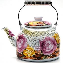 Чайник эмалированный Mayer Boch «Макси». Уцененный товар