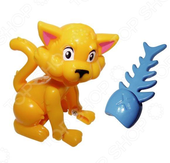 Игрушка развивающая для малыша Жирафики «Дрессируем питомца. Котенок с рыбкой»Другие развивающие игрушки и игры<br>Игрушка развивающая для малыша Жирафики Дрессируем питомца. Котенок с рыбкой станет замечательным подарком для малыша, ведь с такой игрушкой ваш ребенок учится основам обращения с домашними животными. Достаточно будет поднести рыбку к мордочке котенка и поводить ею в разные стороны, чтобы котенок стал поворачиваться за рыбкой. Секретный способ дрессировки заключается в том, что в рыбке находится магнит. Играя, детишки знакомятся с окружающим миром, развивают фантазию и мелкую моторику рук.<br>