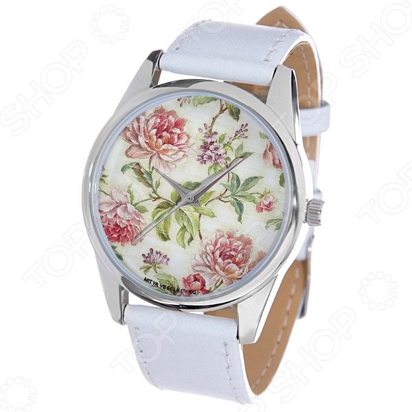 Часы наручные Mitya Veselkov «Пионы» MV.White часы настенные mitya veselkov пионы цвет белый mvc nast 009