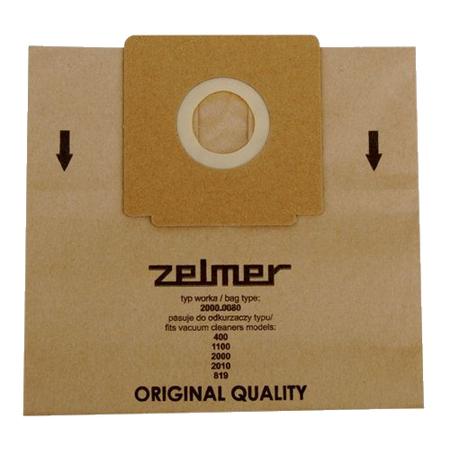 Купить Комплект мешков пылесборных для пылесоса ZELMER 2000.0080