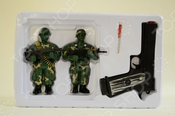 Пистолет лазерный игрушечный с мишенями 1707192