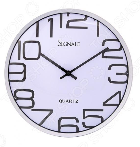 Часы настенные Mitya Veselkov Segnale. Цифры: греческиеЧасы настенные<br>Настенные часы это элегантный и неотъемлемый элемент дизайна любого помещения. Правильно подобранные часы позволяют внести в общий интерьерный ансамбль некоторую изюминку и легкий штрих индивидуальности, собственного стиля. Поэтому к подбору такого значимого и функционального украшения надо подходить с умом. Настенные часы от отечественного бренда Mitya Veselkov станут настоящей находкой для тех, кто следит за трендами современной моды, но в тоже время предпочитает классику. Часы настенные Mitya Veselkov Segnale. Цифры: греческие отлично впишутся в интерьер вашей гостиной, спальни, кухни или детской комнаты. Корпус кварцевых часов выполнен из качественного пластика, который гарантирует не только их легкость, но и практичность, легкий монтаж и уход. Циферблат с огромными греческими цифрами данной модели оформлен простым, но элегантным дизайном, который позволит подчеркнуть оригинальность интерьера вашего дома и выразить вашу индивидуальность.<br>