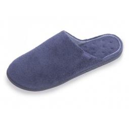 фото Тапочки эргономичные мужские Isotoner 96610. Цвет: голубой. Размер: 45