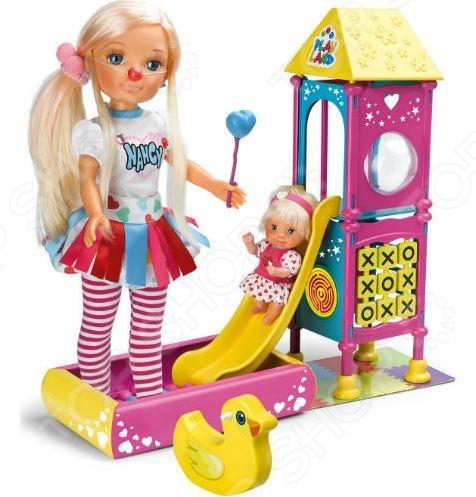 Кукла с аксессуарами Famosa «Нэнси и игровая площадка»