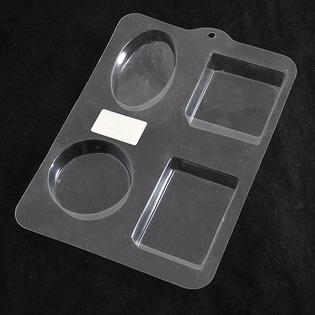 Купить Набор пластиковых формочек для литья Ars Hobby «Простые формы»