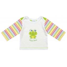 Купить Футболка с длинным рукавом детская Курносики «I love frog»