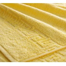 фото Полотенце махровое Asgabat Dokma Toplumy. Размер: 100х180 см. Цвет: желтый