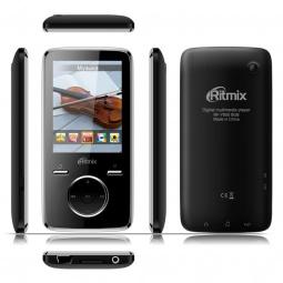 фото MP3-плеер Ritmix RF-7650. Цвет: черный. Встроенная память: 8 Гб