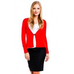 фото Жакет Mondigo 426. Цвет: красный. Размер одежды: 44