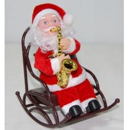 Купить Игрушка музыкальная Снегурочка «Дед Мороз в кресле-качалке»