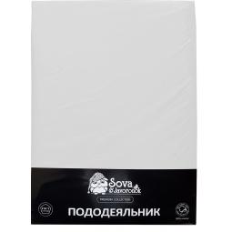 фото Пододеяльник Сова и Жаворонок Premium. Цвет: белый. Размер пододеяльника: 143х216 см