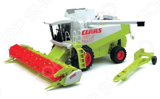 Комбайн игрушечный Bruder Claas Lexion 480 bruder claas xerion 5000 bruder брудер