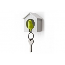 Купить Брелок для ключей со свистком «Птичка в скворечнике» BH-009. В ассортименте