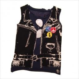 фото Майка детская с аппликацией Mini Shatsu Leather Vest Muscle