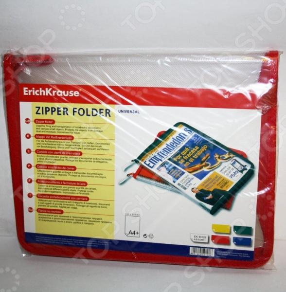 ����� ��� ���������� Erich Krause Zip Folder 50120. � ������������
