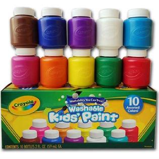 Купить Акварель в баночках Crayola «Washable paint»